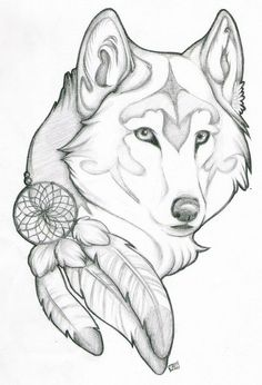Wolf Drawings on Pinterest | Wolves Art, Horse Drawings and Pencil ...