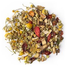 Bravissimo is a herbal tisane tea packed with throat soothers like licorice, chamomile, rosehip, orange peel and peppermint, as well as immune-enhancing goji berries. Licorice Root Tea, Sore Throat Tea, Davids Tea, Bravissimo, Types Of Tea, Best Tea, Healthy Juices, Tea Blends, Tea Accessories