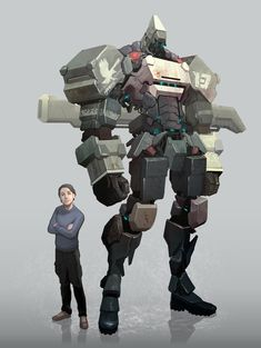A mixture of Transformers and Zone of the Enders inspired mecha art work by Indonesian digital artist Reza Ilyasa. Character Concept, Character Art, Character Design, Transformers, Dragons, Robot Illustration, Mekka, Cool Robots, Robot Concept Art