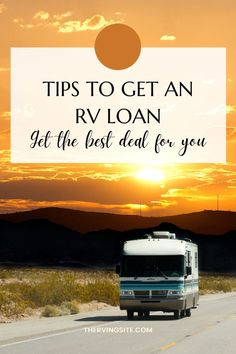 If you're ready to hit the road in your new RV, follow this guide to get the best RV financing options. Rv Financing, Buying An Rv, How Do I Get, Finance, Good Things, Best Deals, Economics