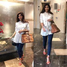 Super style black and white fashion classy ideas White Fashion, Look Fashion, Indian Fashion, Trendy Fashion, Fashion Outfits, Fashion Kids, Classy Fashion, Party Fashion, Casual Work Attire