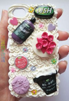 Lush inspired iphone 4S deco cover