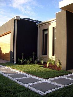 Front Yard Garden Design modern garden garden design ideas with rock and sand