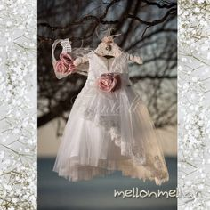 Vinte Li - Βαπτιστικό φόρεμα, κωδ. 2812 Wedding Pillows, Kids Fashion, Womens Fashion, Little People, Girl Outfits, Clothes, Beautiful, Dresses, Diy Crafts