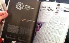 La rivista Kult ha dedicato alcune pagine di redazionale al Museo del Marchio Italiano.