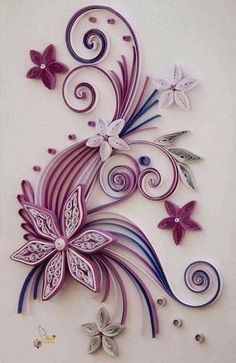 ideas about Neli Quilling Neli Quilling, Paper Quilling Patterns, Origami And Quilling, Quilled Paper Art, Quilling Paper Craft, Quilling Images, Quilled Roses, Toilet Paper Roll Crafts, Paper Crafts
