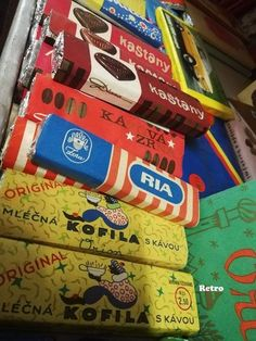 Retro Sweets, Socialism, Childhood, Candy, Memories, Bratislava, Packaging, Historia, Nostalgia