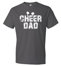 4f5af84b Cheer Dad Shirt - Fathers Day Gift From Daughter, Dad Gift From Wife, New  Dad, Fathers Day Shirt, Fathers Day Gift, New Dad Shirt, Dad Life