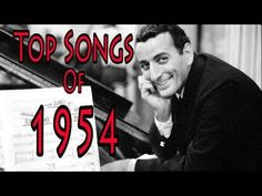 1 Little Things Mean a Lot - Kitty Kallen 2 Wanted - Perry Como 3 Hey There - Rosemary Clooney 4 Sh-Boom - The Crew-Cuts 5 Make Love to Me - Jo Stafford 6 Oh. Frank Sinatra Songs, Easy Listening Music, 50s Music, Bill Haley, Perry Como, Song Lyrics Art, Eddie Fisher, Song Of The Year, Music Charts