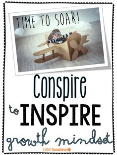 Little Bird Kindergarten for Hello Sunshine: Conspire to Inspire Growth Mindset! FREE poster!