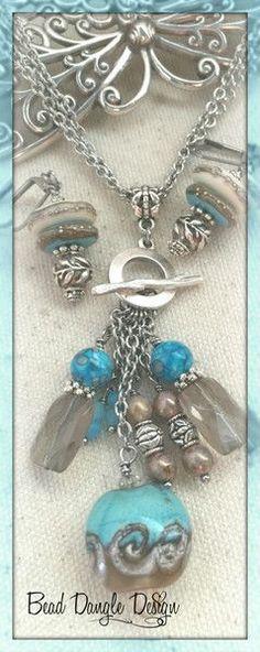 Handmade Beaded Necklaces – Bead Dangle Design