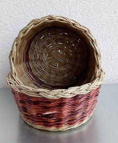 veronica / 2 kruhové košíky s vypletaným dnom