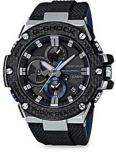 sports shoes f1aec edc10 G-Shock Resin and Rubber-Strap Analog Watch