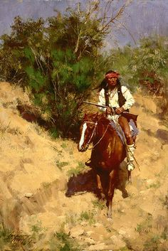 Howard Terpning is one of today's leading western artists, best known for his…