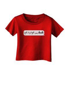 TooLoud Table Flip Text Bubble Infant T-Shirt Dark