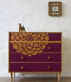 Stencil wardrobe