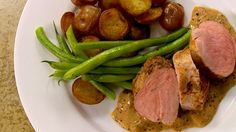 Filets de porc sauce moutarde Diner Recipes, Entree Recipes, Pork Recipes, Chicken Recipes, Healthy Recipes, Confort Food, Skinny Recipes, Food Inspiration, Filets