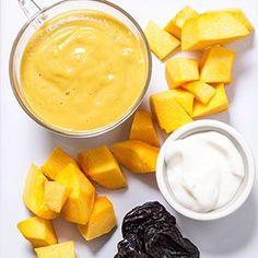 Pumpkin + Yogurt + Prunes — Baby FoodE organic baby food recipes to inspire adventurous eating Baby Puree Recipes, Pureed Food Recipes, Baby Food Recipes, Yogurt Recipes, Protein Recipes, Dinner Recipes, Toddler Meals, Kids Meals, Toddler Food