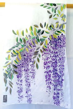 Image result for hand painted shawls