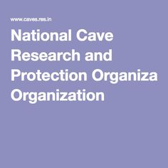 National Cave Research and Protection Organization