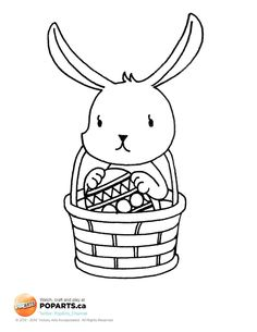 #Easter is the only occasion where it's okay to put all your eggs in one basket! So take advantage and get #crafting!
