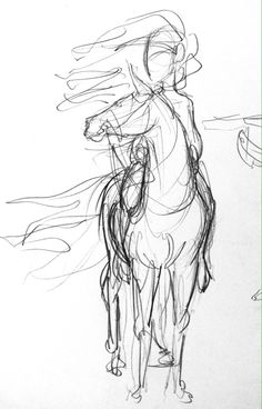 Yenthe Joline Art • Some horse sketches. Tried to experiment with a...