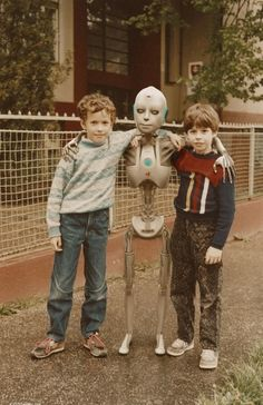 Amistad robotica...