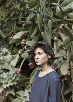 pelo corto (foto de moda Mango)