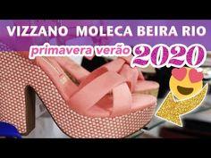 cb1fb960ba Sapatos Femininos - Vizzano, Moleca, Modare e Beira Rio Coleção NOVA 2020 -  Vício de Menina