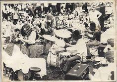Macon Central City Park 1969 free public concerts - Photo by Lynn Harmon
