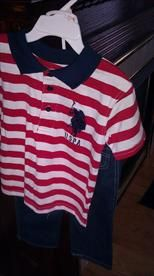 Nice Red, White and Blue 2 piece, 2T, Kids, $10.00