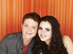 emmett and bay from switched at birth....