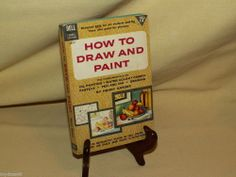 HOW TO DRAW AND PAINT BY HENRY GASSER DELL LAUREL #LX107 6TH PRINT NOV 1963 ILL