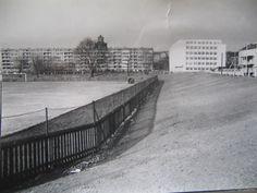 Sypané tribuny Slávie