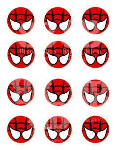 Spiderman Party on Pinterest | Spiderman, Super Hero Parties and ...