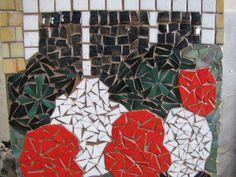 Geraniums , a mosaic by kat gottke