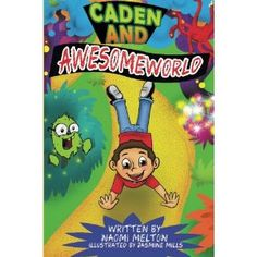 #Book Review of #CadenandAwesomeWorld from #ReadersFavorite - https://readersfavorite.com/book-review/caden-and-awesome-world  Reviewed by Lori A. Moore for Readers' Favorite  I want to go to Awesome Land like Caden did in Caden and Awesome World by Naomi Melton. In just 24 pages, Caden meets a three-headed dragon, a gopher wearing glasses, a rickety wooden bridge over crocodiles swimming in water and much, much more. Too adventurous for his own good and bored with eve...