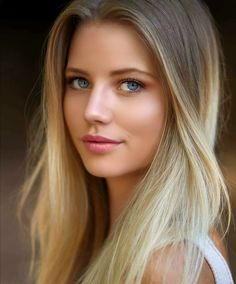 Most Beautiful Faces, Beautiful Women Pictures, Gorgeous Eyes, Beauty Full Girl, Beauty Women, Belle Nana, Looks Pinterest, Beautiful Blonde Girl, Blonde Beauty