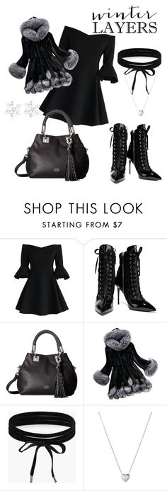"""Untitled #84"" by grlgddss ❤ liked on Polyvore featuring Chicwish, Giuseppe Zanotti, Vince Camuto, Boohoo and Links of London"