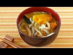 How to Make Kabocha (Pumpkin) Miso Soup with Somen Noodles (Recipe) かぼちゃのお味噌汁
