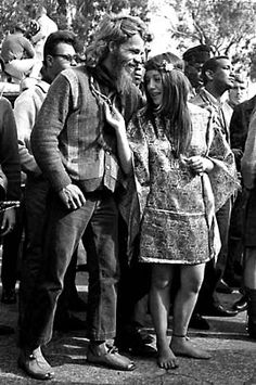 "The ""Summer of Love"" was a couterculture movement in 1967.  (Hippies Celebrate in San Fransisco)"