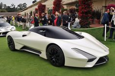 SSC Tuatara Hyper sports car