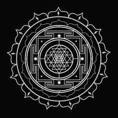 XIII Shri Vidya Yantra ~ Embracing the Transformation of Death-Mother