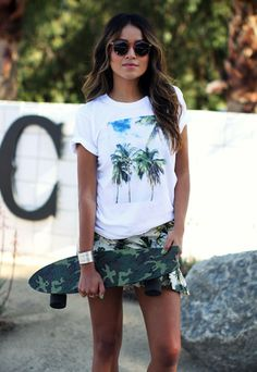 CALI PALMS TEE - Sincerely Jules