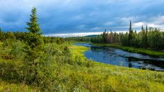 River Kemijoki, Savukoski, Finland; by Heikki Rantala