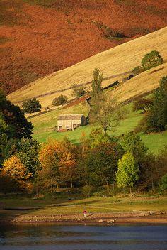 Derwent Moors. Derbyshire, England