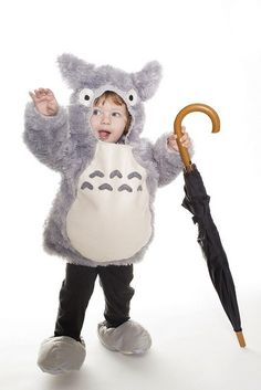 Totoro kid costume. My kids will definitely win best costume.  sc 1 st  Pinterest : buffalo costumes san diego  - Germanpascual.Com