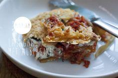 Lasagna met aubergine