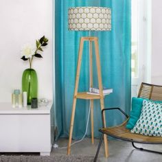Facettes, lampa z półką na książkę, Mademoiselle Dimanche, lightonline.pl