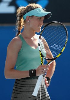 Genie Bouchard - Australian Open 2014 The new face of women's tennis in Canada.